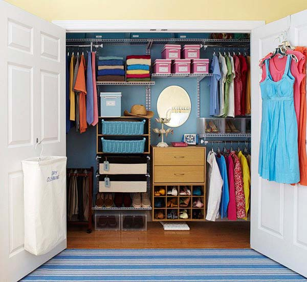 Image of: 50 Cool walk in closets