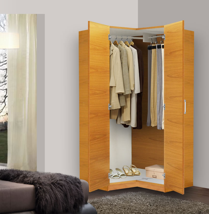 Picture of: Alta Corner Wardrobe Closet