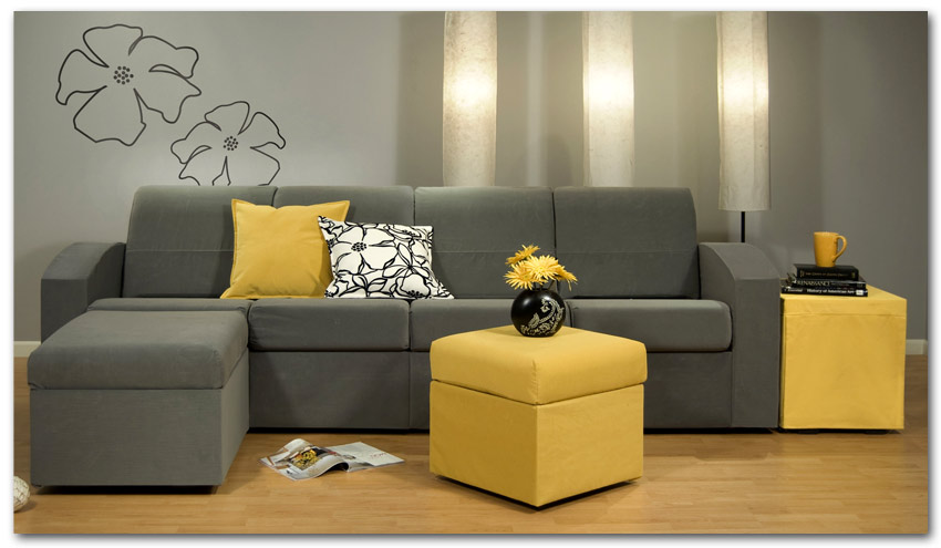 Picture of: Amazing Small Sectional Sofa