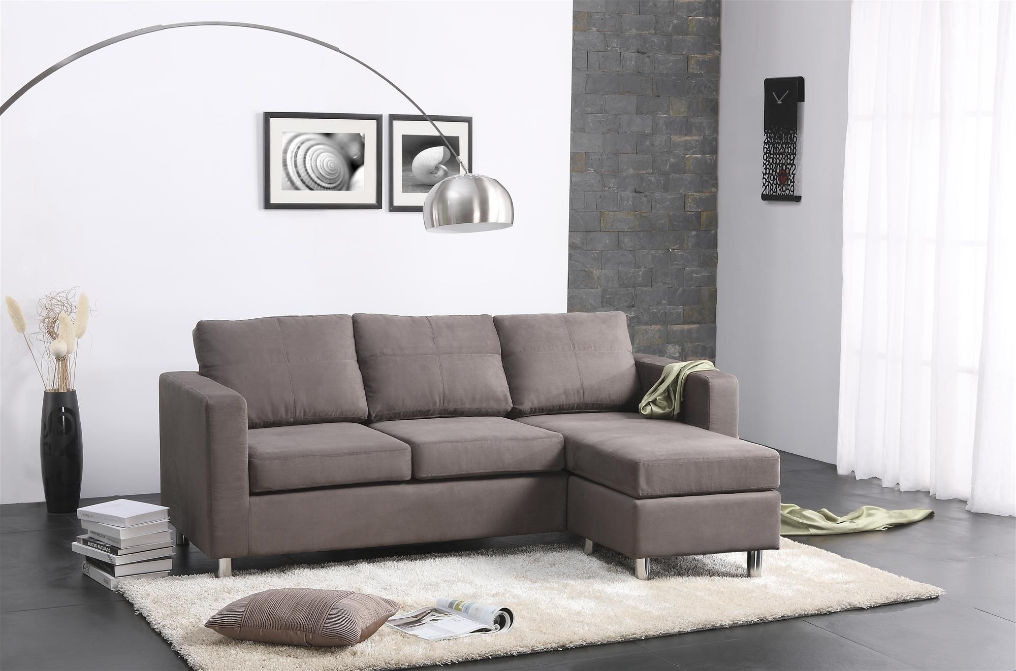 Picture of: Awasome Small Sectional Sofa