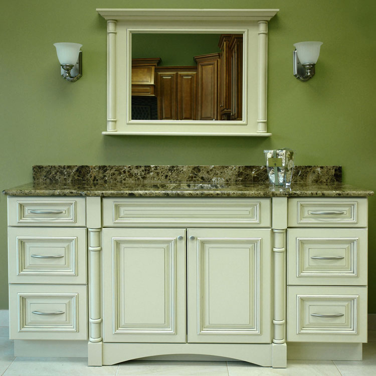 Image of: Bathroom vanity cabinets design