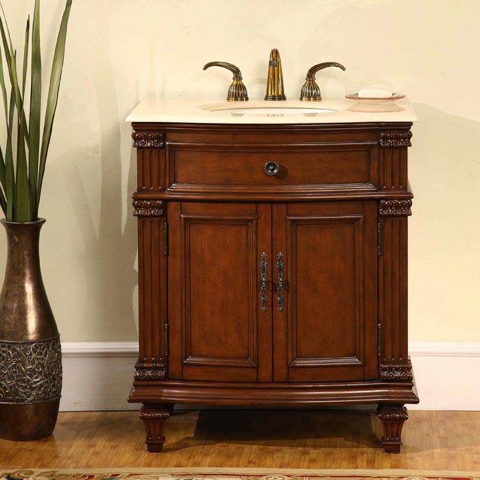 Image of: Bathroom vanity cabinets image
