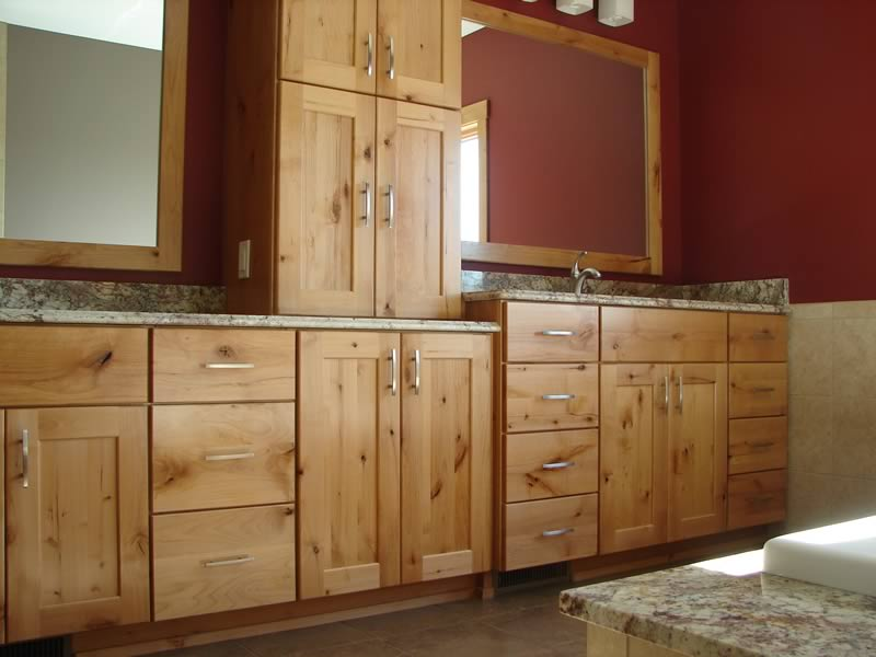 Image of: Bathroom vanity cabinets picture