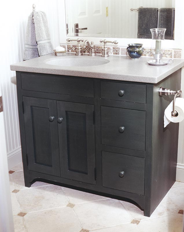 Image of: Beautiful bathroom vanity cabinets