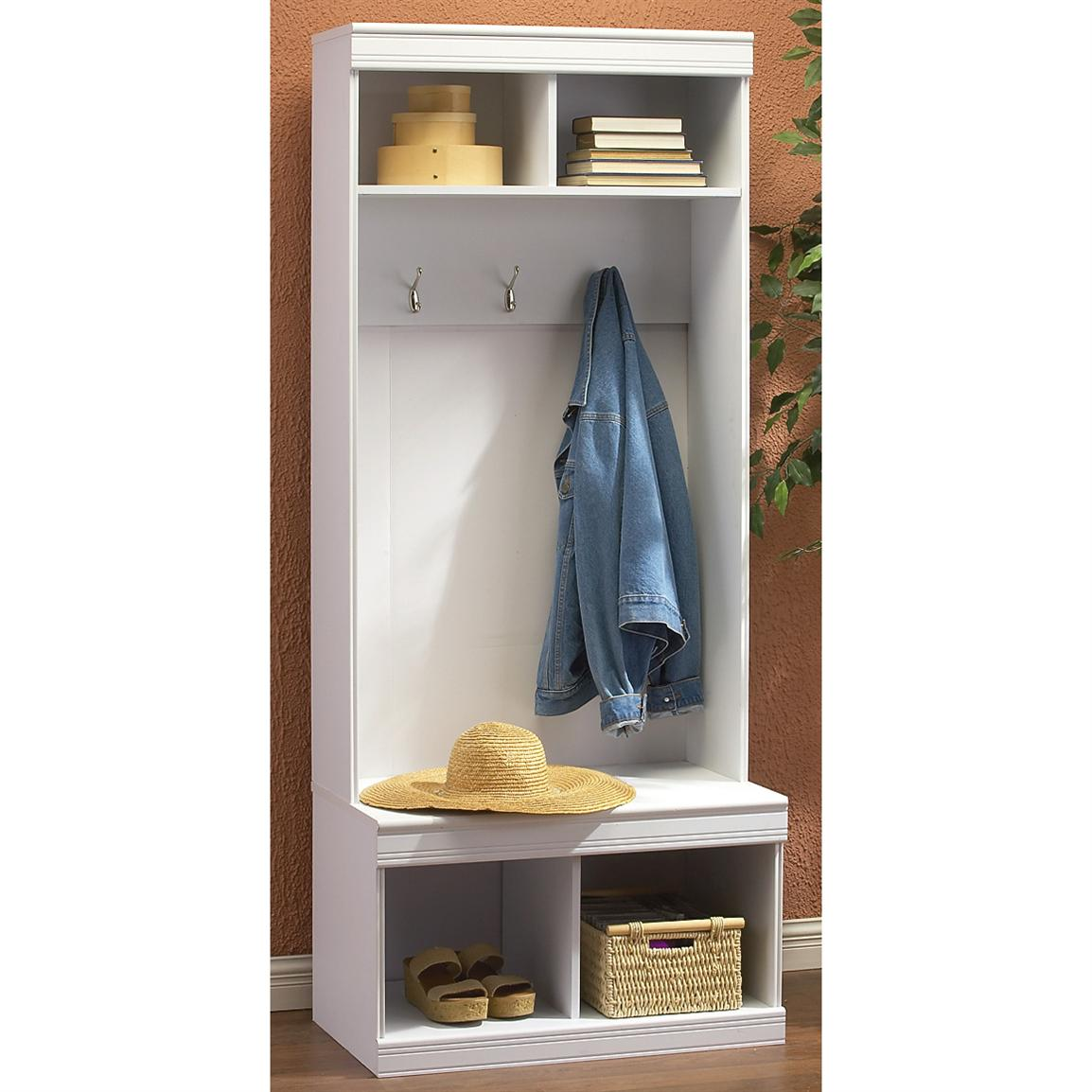 Picture of: Beautifully Entryway Storage Bench