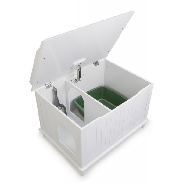 Image of: Catbox Litter Box Enclosure