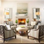 Chair Rail and Fireplace