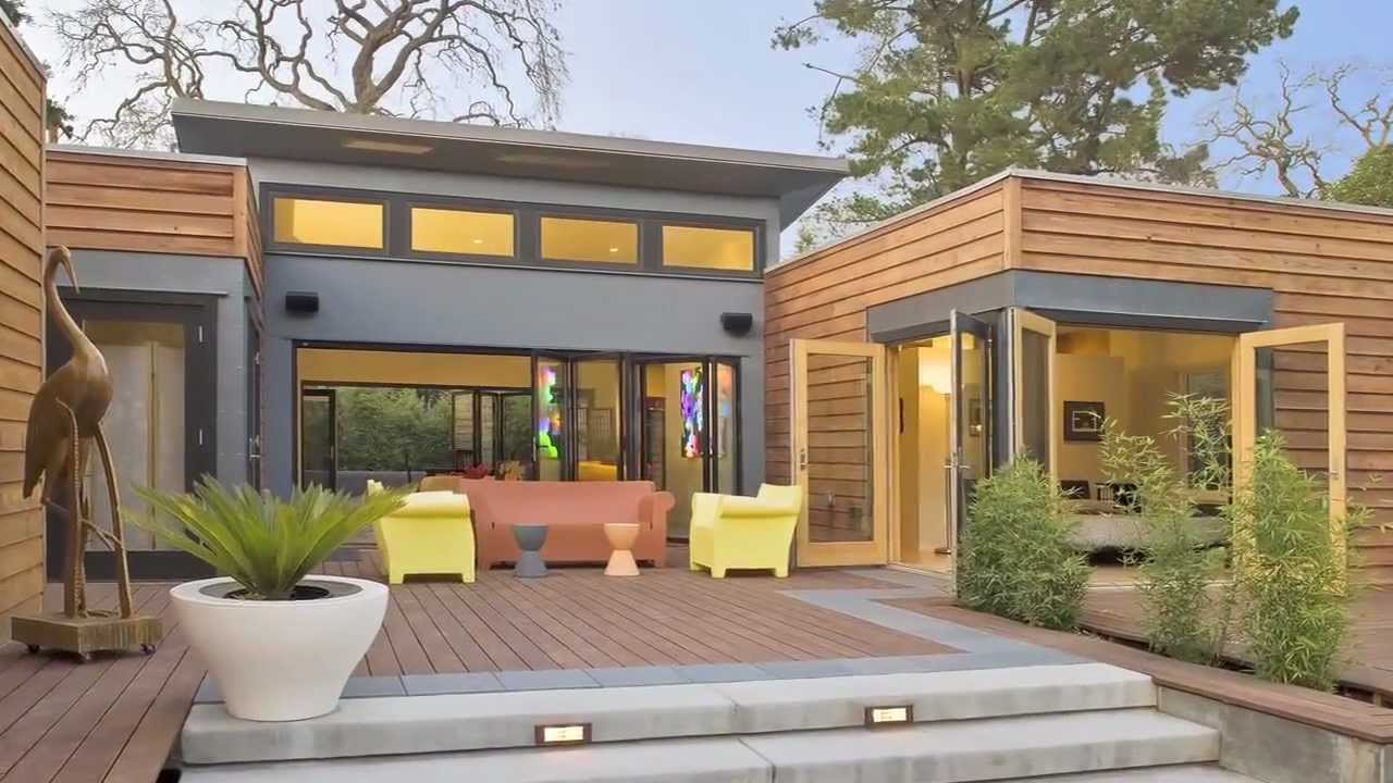 Image of: Chic modern prefab homes affordable