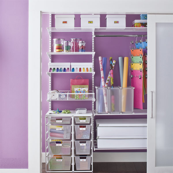Closet Organization Ideas Elegant Purple Image