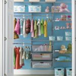 Closet Organization Ideas kids blue image