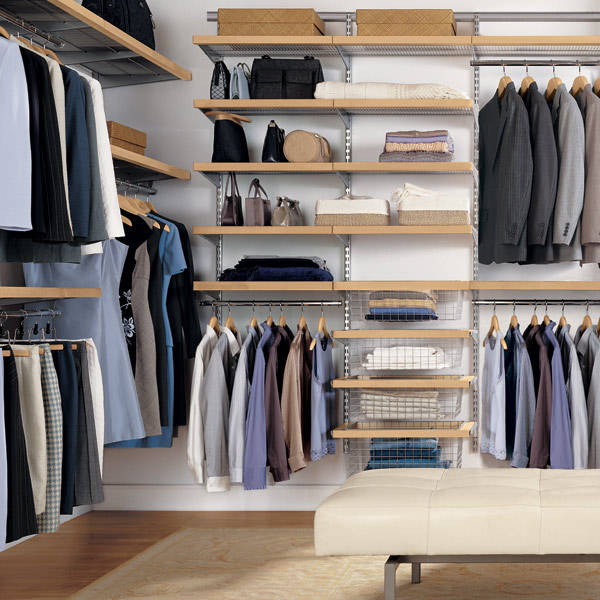 Closet Organization Ideas Small Simple Picture