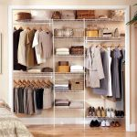 Closet organizing ideas elegan modern white
