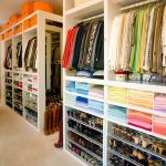 Closet organizing ideas long image