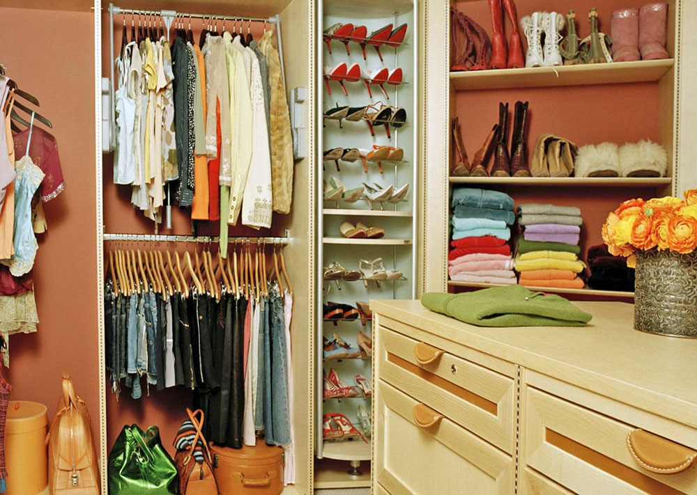 Image of: Closet organizing ideas simple image