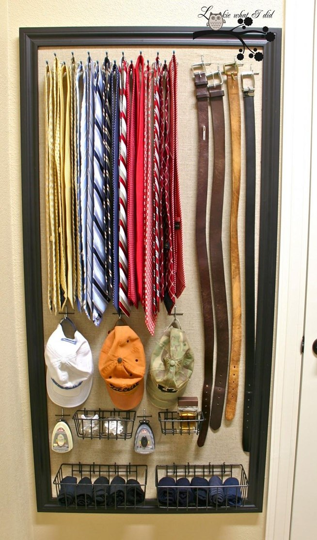 Image of: Closet organizing ideas small picture