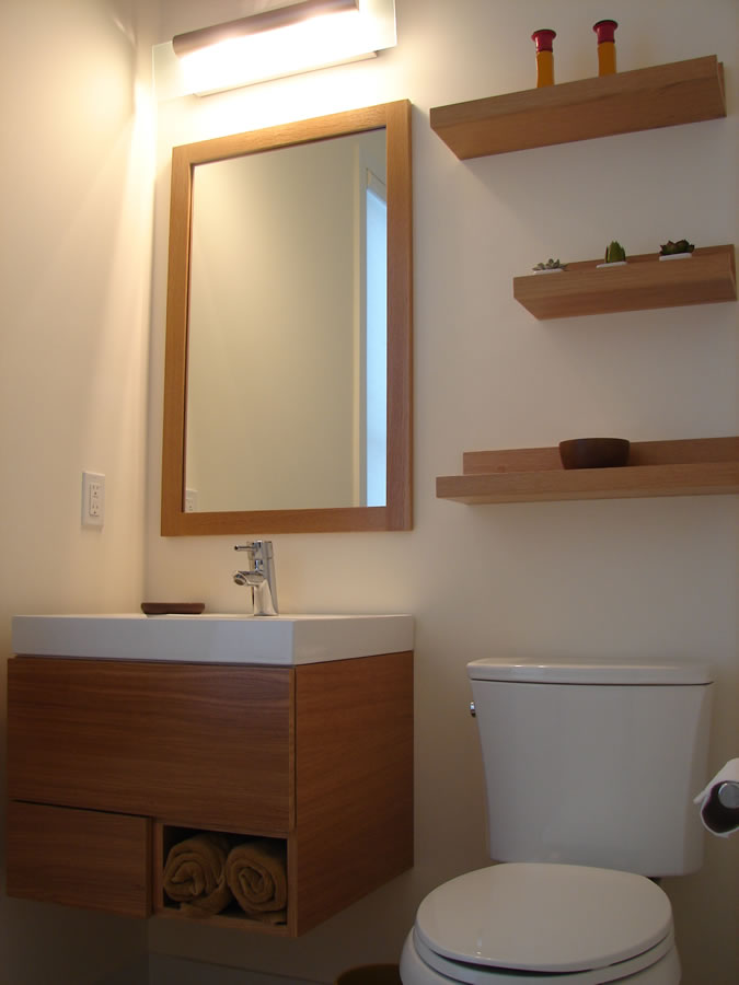 Image of: Contemporary bathroom vanity cabinets