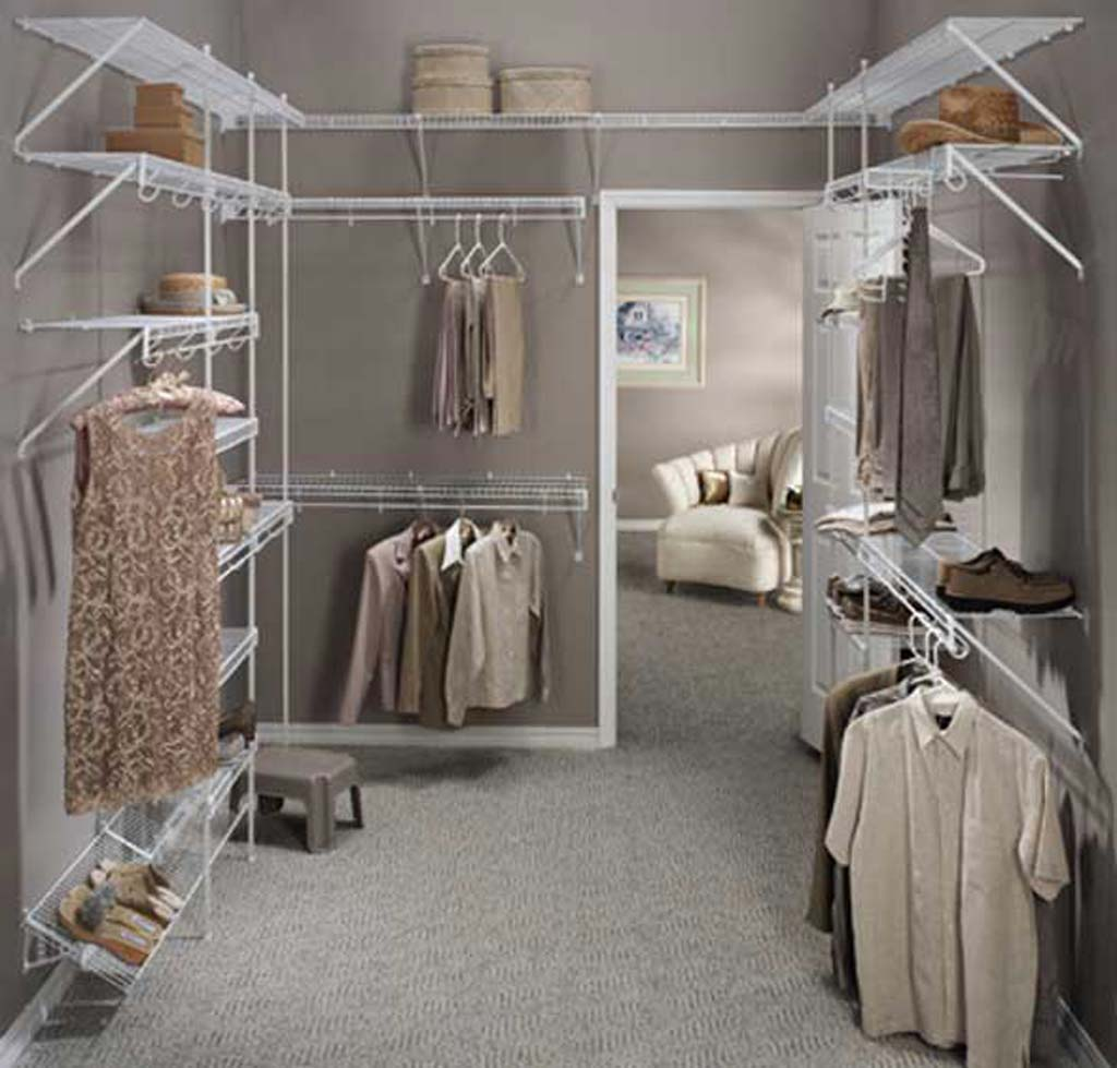 Image of: Cool walk in closets Design