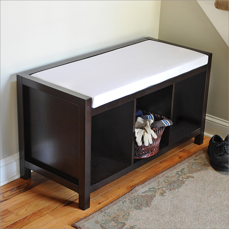 Picture of: Entryway Storage Bench Picture