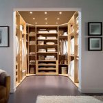 Exceptional walk in closets