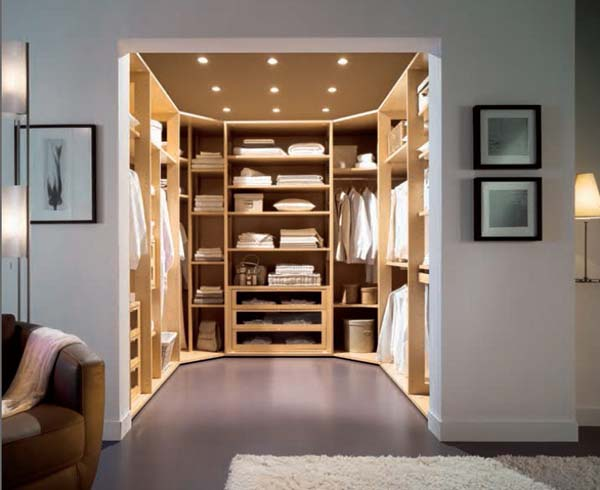 Image of: Exceptional walk in closets
