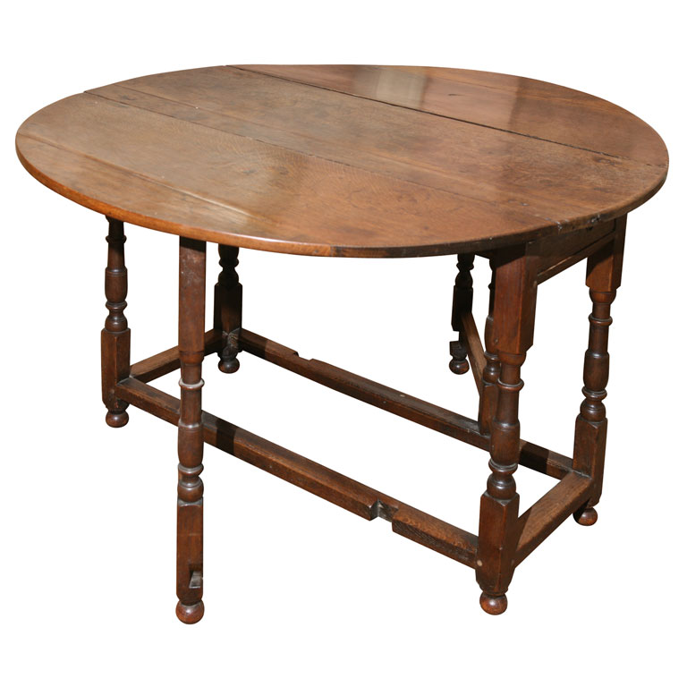 Picture of: Gate Leg or Drop Leaf Table