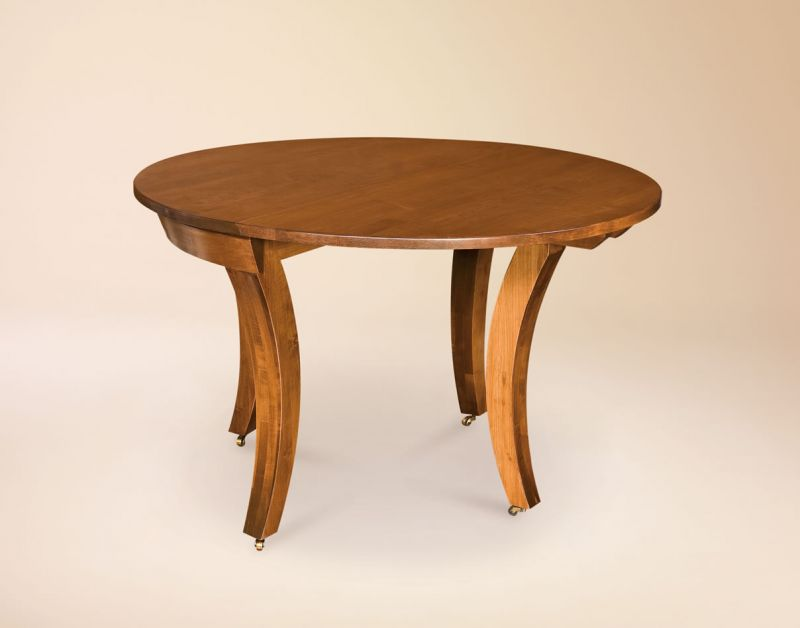 Picture of: Georgetown Round Drop Leaf Table