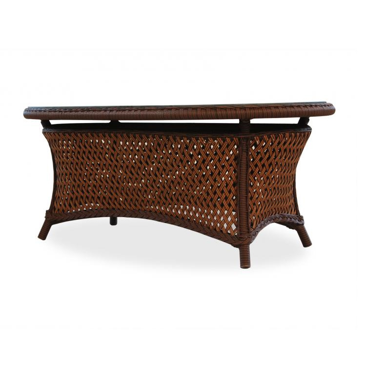 Image of: Grand Traverse wicker coffee table