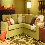 Green Small Sectional Sofas