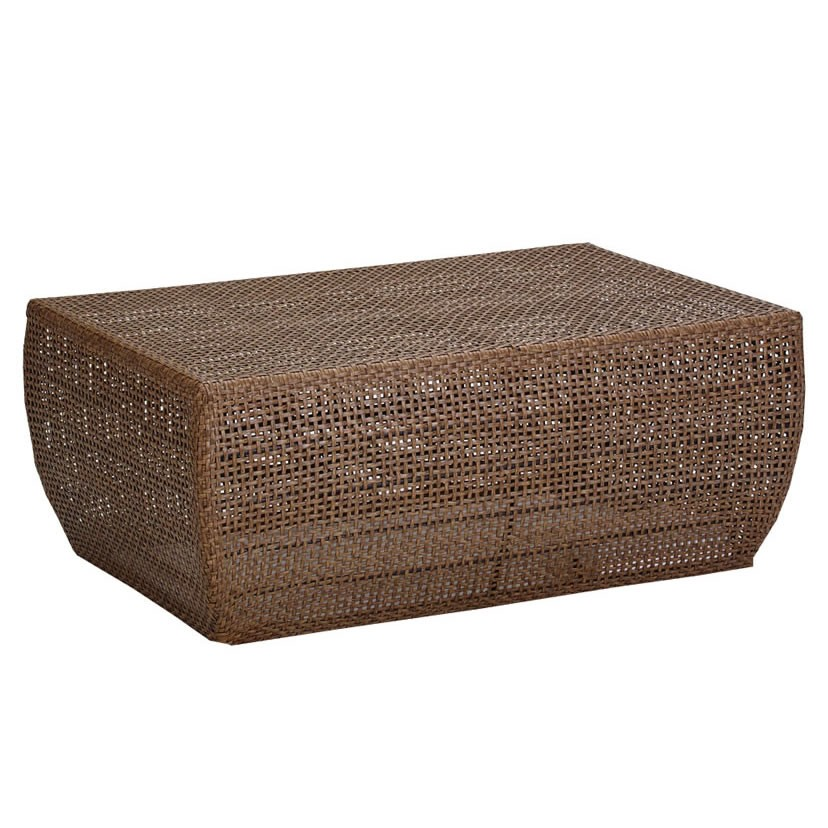 Image of: Huntington wicker coffee table