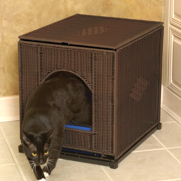 Image of: Litter Box Enclosure Cover