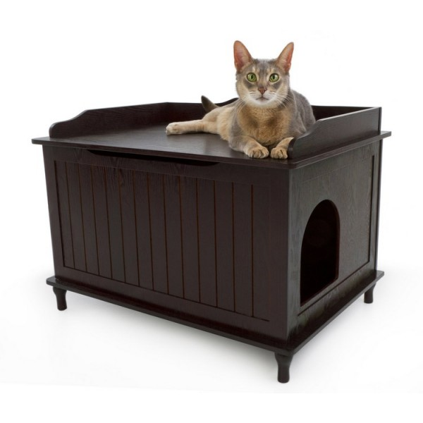 Image of: Litter Box Enclosure Ideas