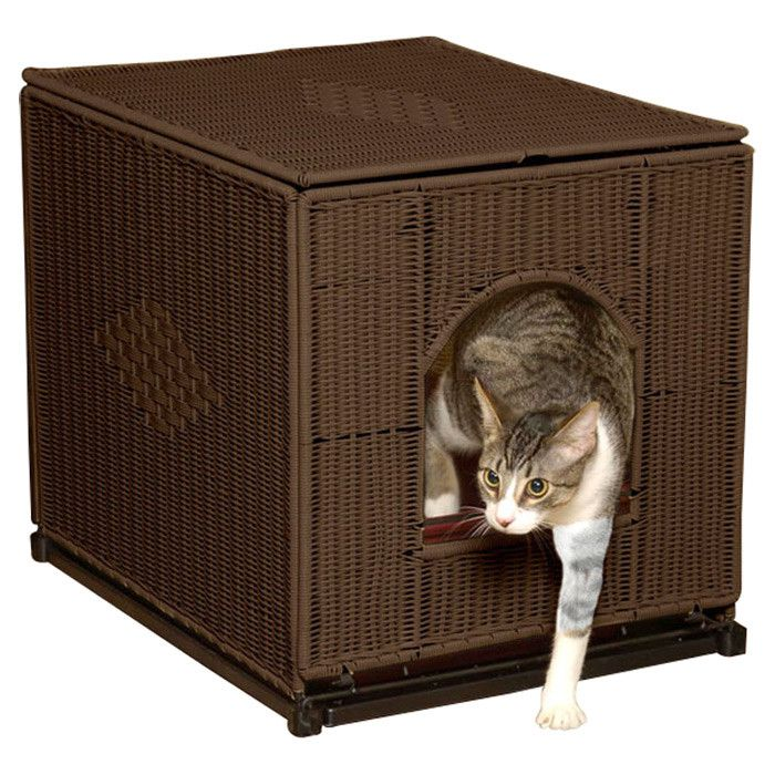 Image of: Litter Box Enclosure Picture