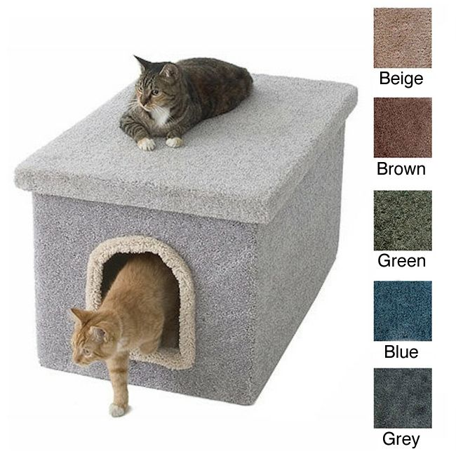 Image of: Litter Box Enclosure from New Cat