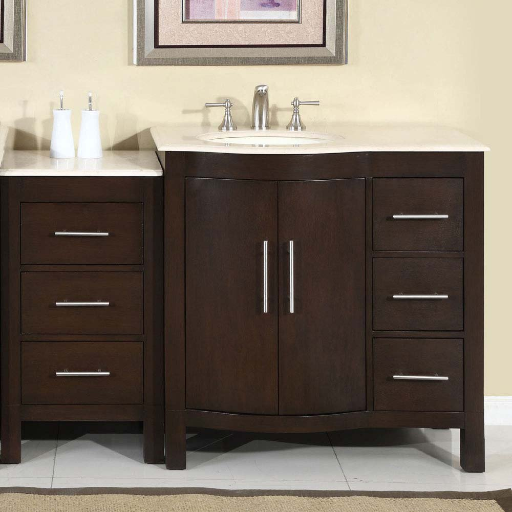 Image of: Luxury bathroom vanity cabinets
