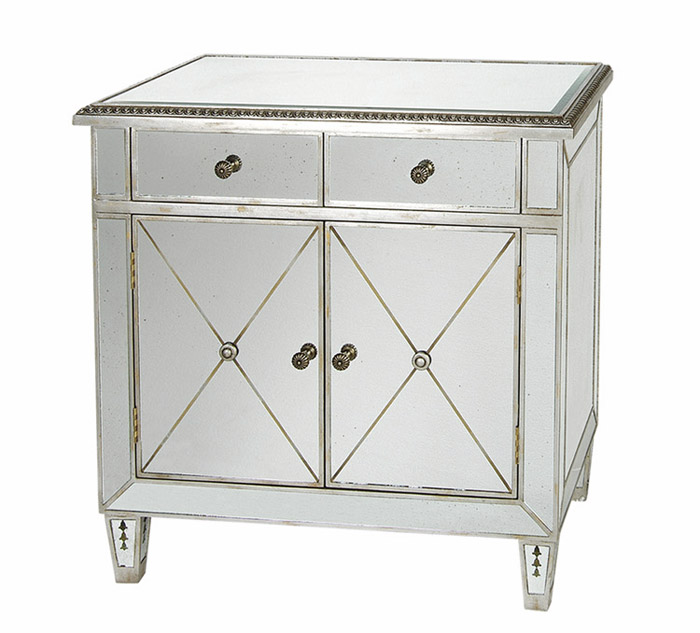 Image of: Mirrored Cabinet Photo