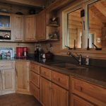 Oak Cabinets Decor