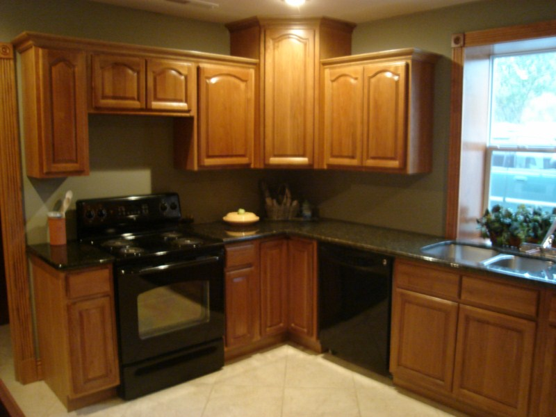 Picture of: Oak cabinets for sale