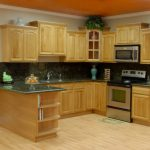 Oak cabinets kitchen