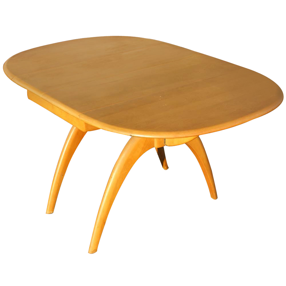 Image of: Oval Drop Leaf Table