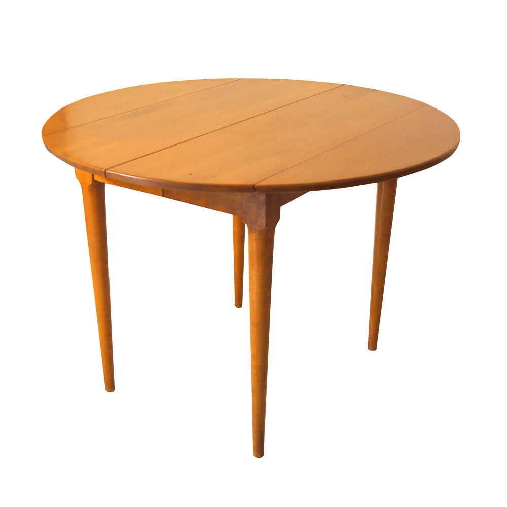 Picture of: Round Drop Leaf Table