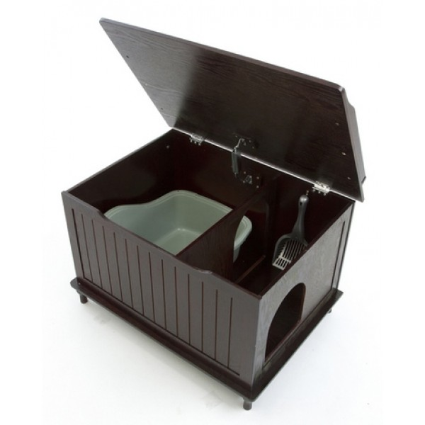 Image of: Small Litter Box Enclosure