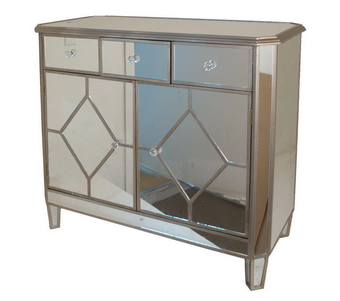 Small Mirrored Cabinet