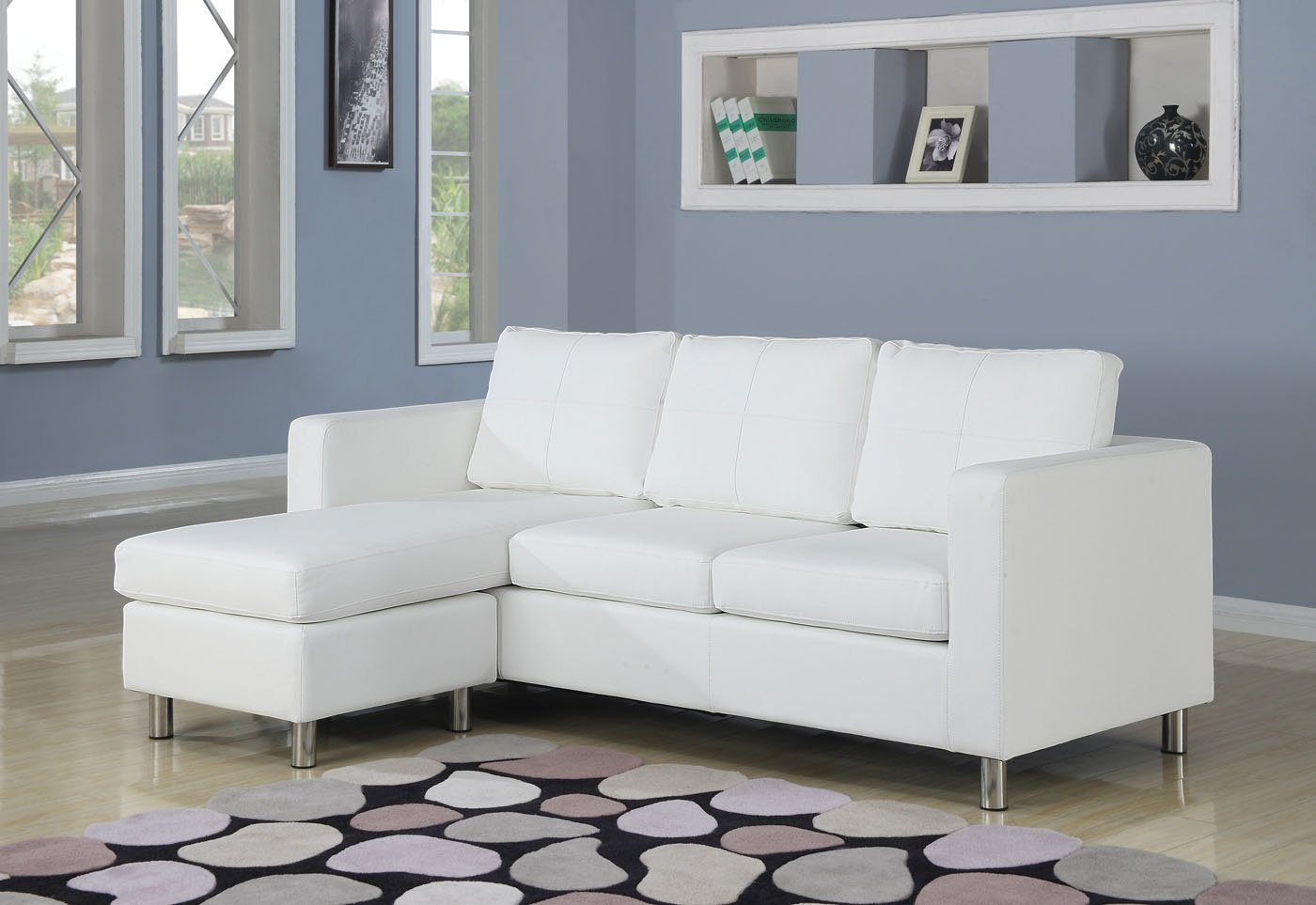 Picture of: Small Sectional Sofa With Chaise