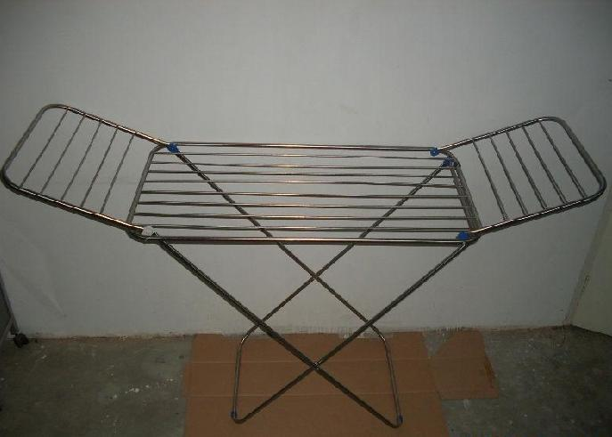 Image of: Stainless steel  laundry drying rack picture