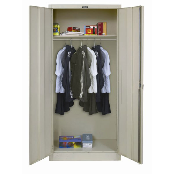 Picture of: Steel Armoire Cabinets