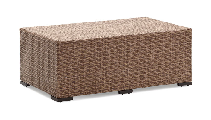 Image of: Strathwood wicker coffee table
