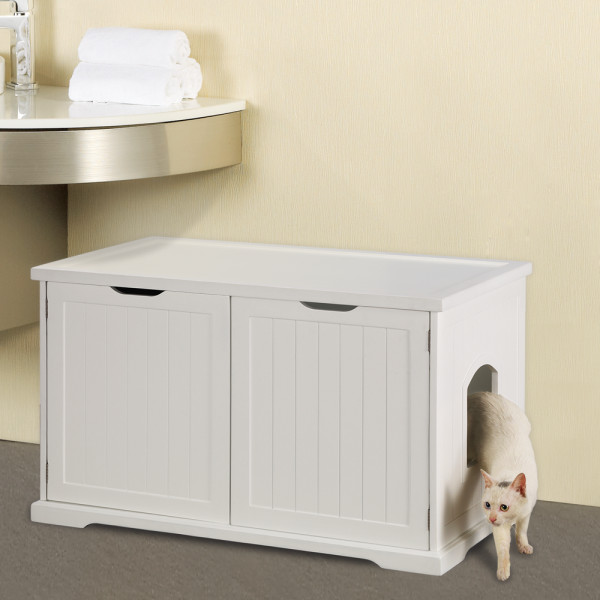 Image of: The Litter Box Enclosure
