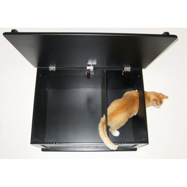 Image of: Top Litter Box Enclosure