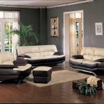 alluring leather ottoman