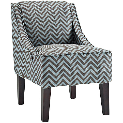 Image of: amazing blue accent chair
